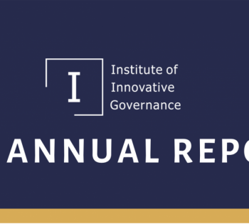 Institute of Innovative Governance Report 2019